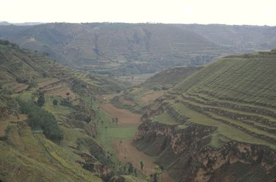 Gully - Loess Plateau of China