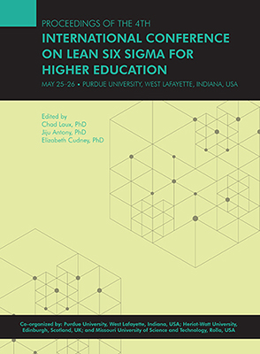 Fourth International Conference on Lean Six Sigma for Higher Education