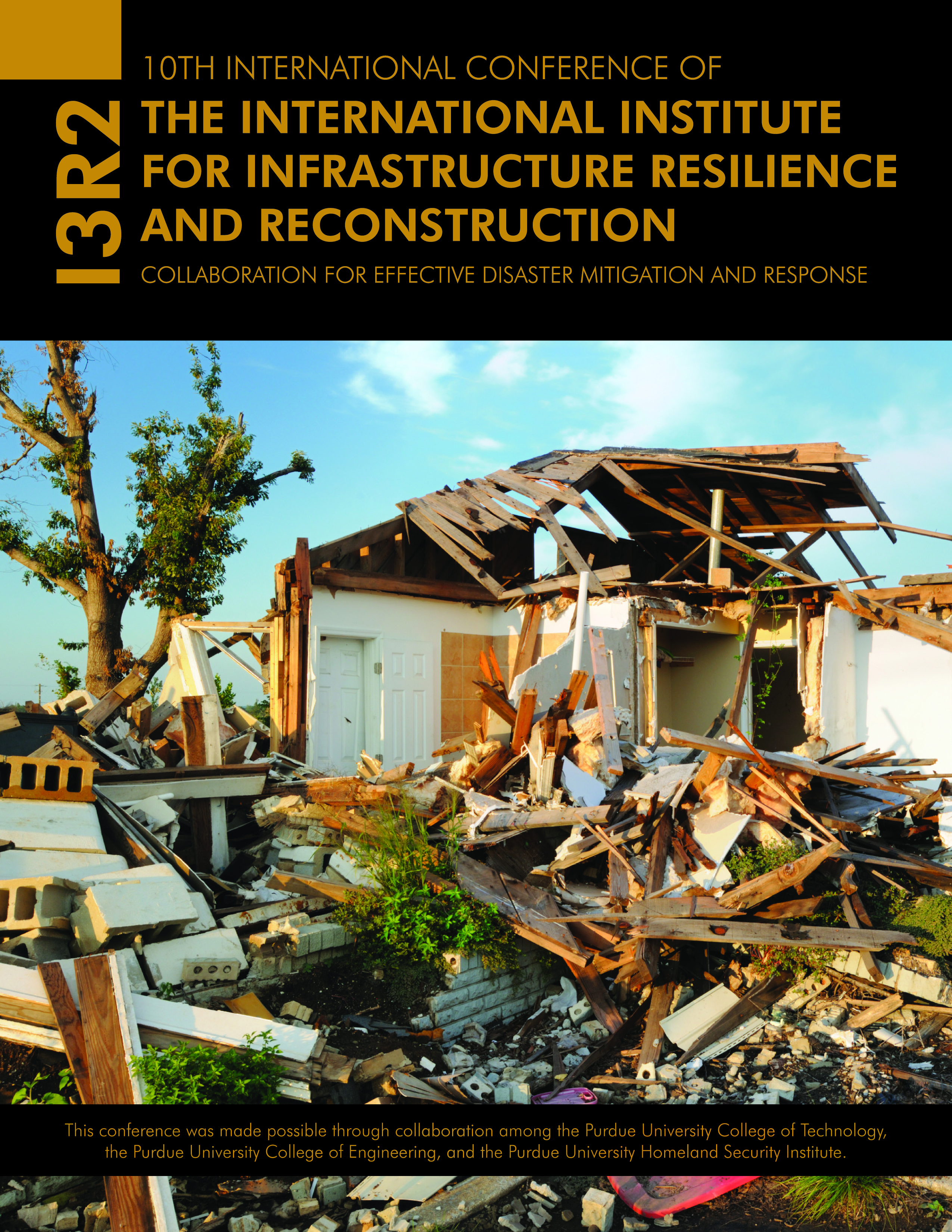 International Institute for Infrastructure Resilience and Reconstruction (I3R2) Conference